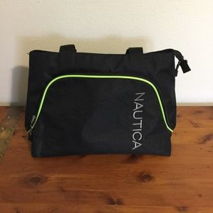 Gym bag good quality Náutica neon and black